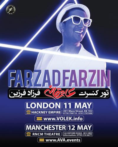 Farzad Farzin Live in England